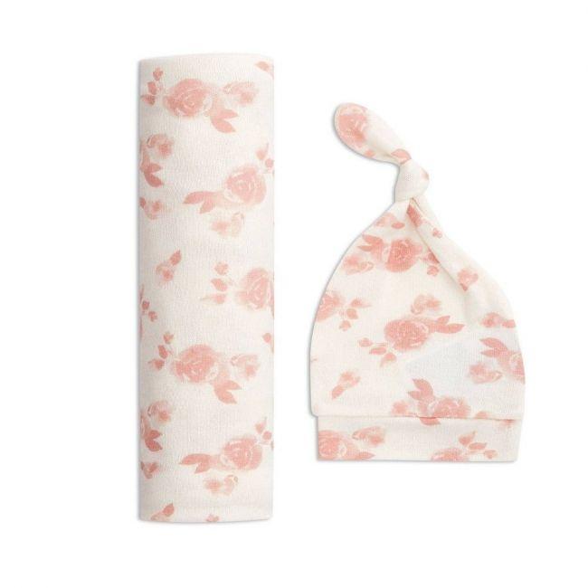 Aden + Anais - Snuggle Knit Swaddle Gift Set Rosettes