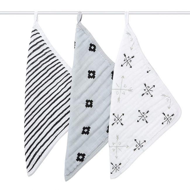 Aden + Anais - Wash Cloth Set Loves Truck