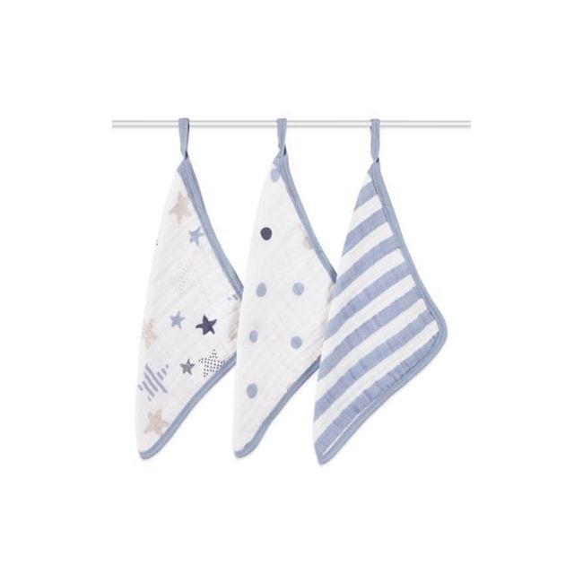 Aden + Anais - Wash Cloths Rock Star