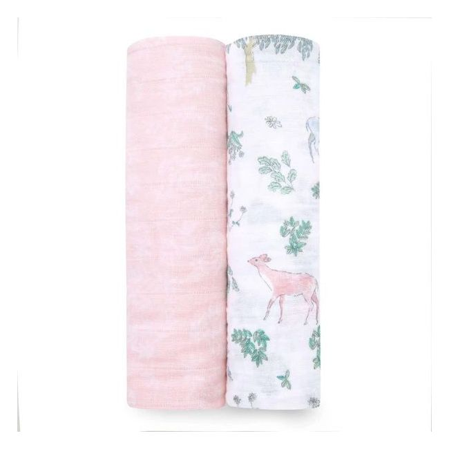 Aden + Anais - Classic 2 Pack Swaddles Forest Fantasy
