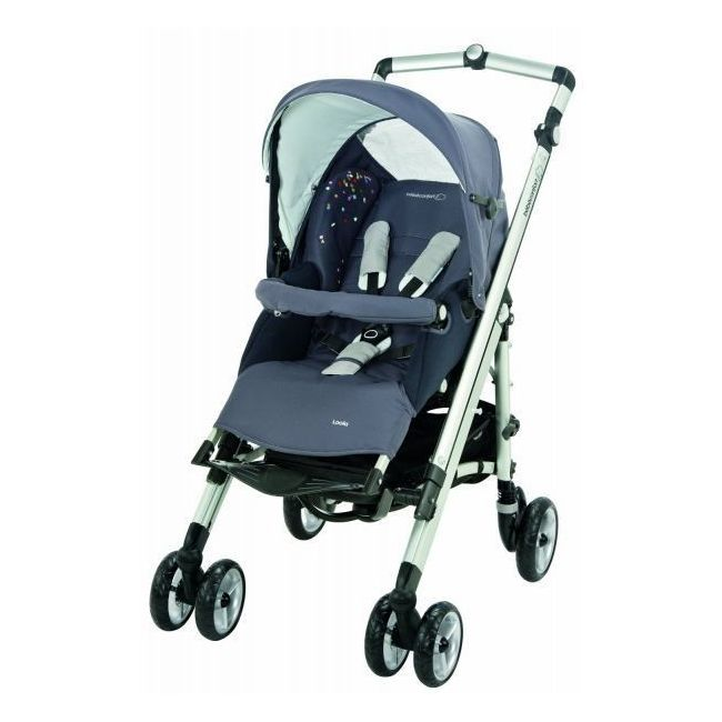 Bebe Confort Grey Loola Up Full Stroller - Confetti
