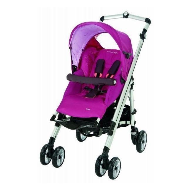 Bebe Confort Violet Loola Up Full Stroller - Sweet Cerise