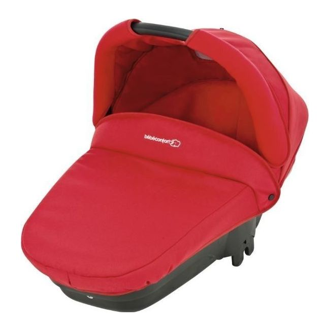 Bebe Confort Intense Red Compact Carrycot