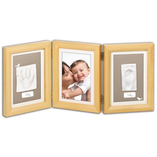 Baby Art Natural Double Print Frame