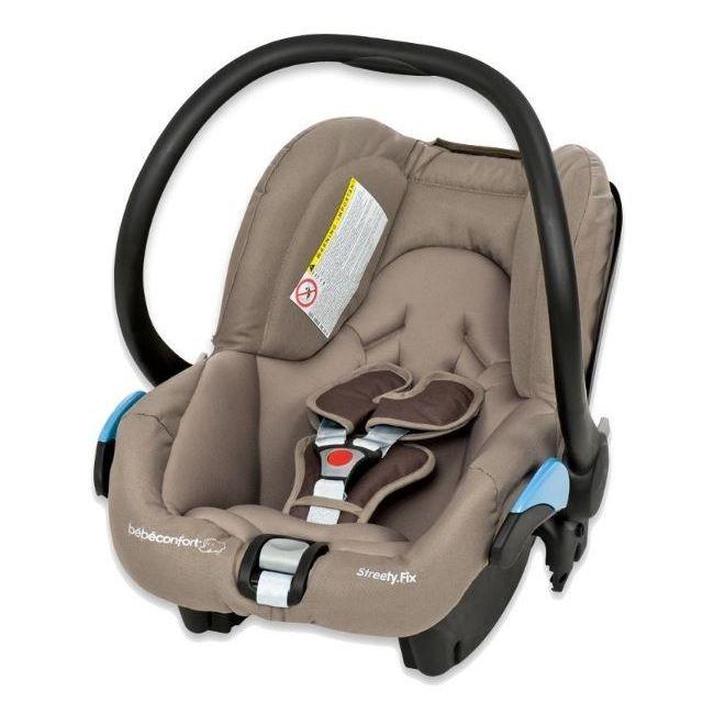 Bebe Confort Walnut Brown Streety fix Car Seat