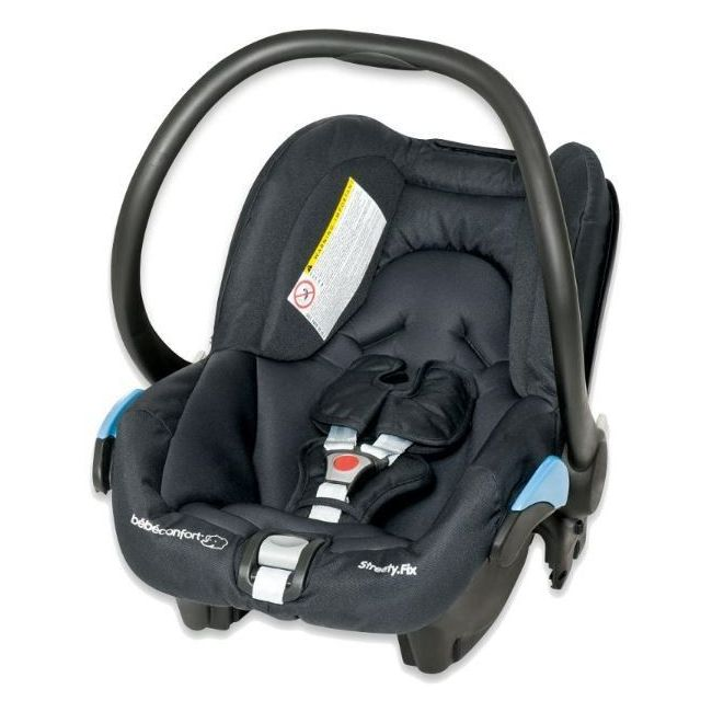 Bebe Confort Total Black Streety fix Car Seat