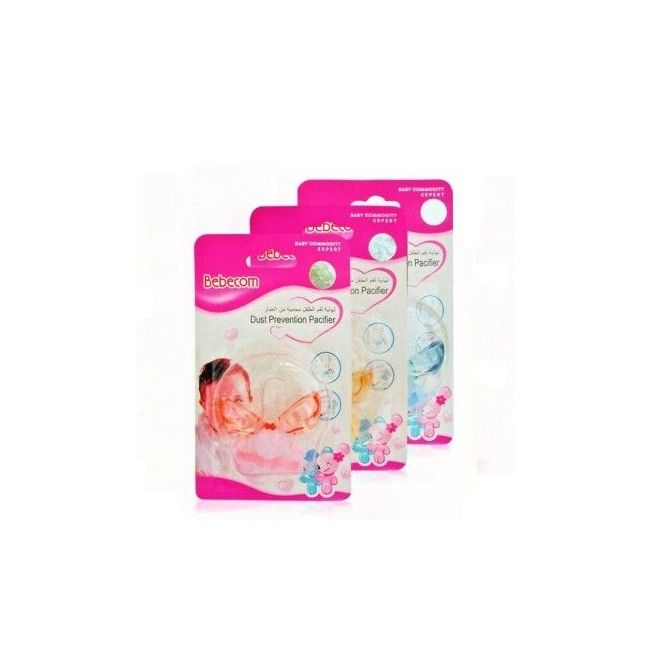 Bebecom Dust Proof Pacifier - Assorted Colour
