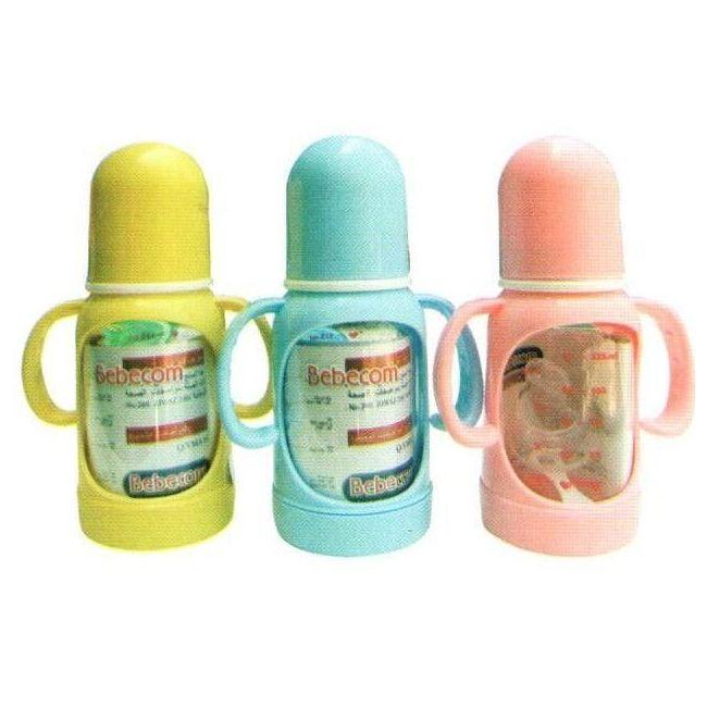 Bebecom Standard PC Feeding 125ml Bottle - Assorted Colours