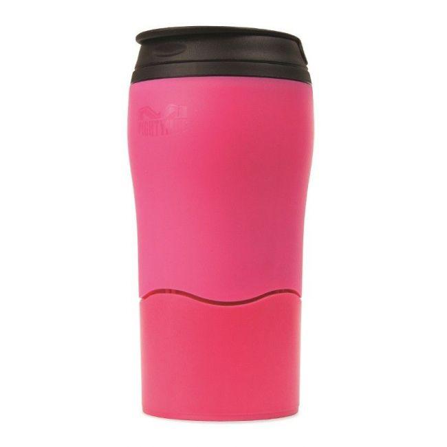 Mighty Mug Solo Plastic Pink