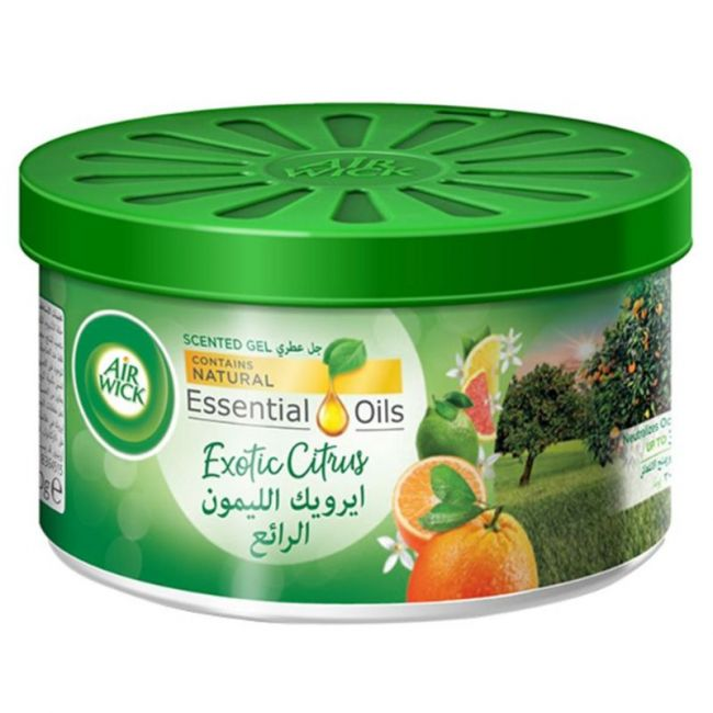 Air Wick - Air Freshener Scented Gel Can Citrus 70g