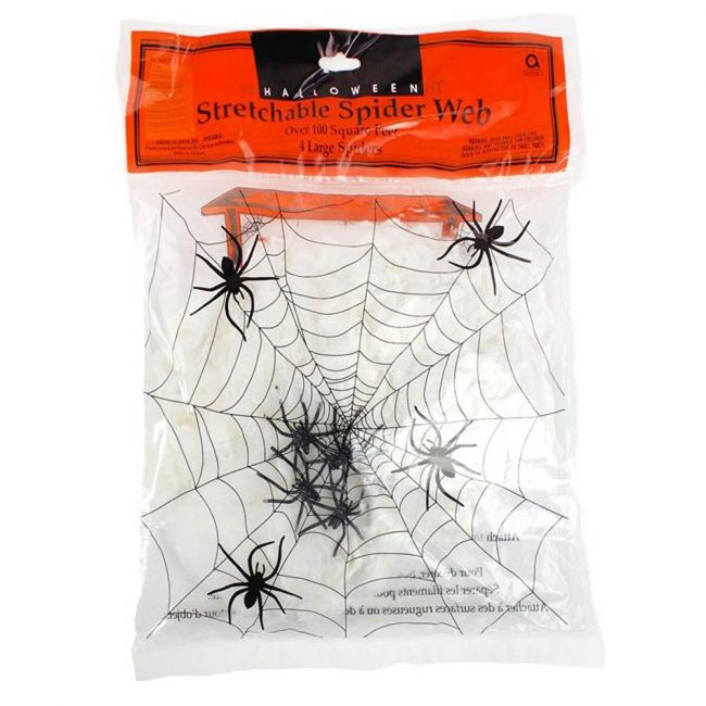 Amscan - Spiders Web With Spiders