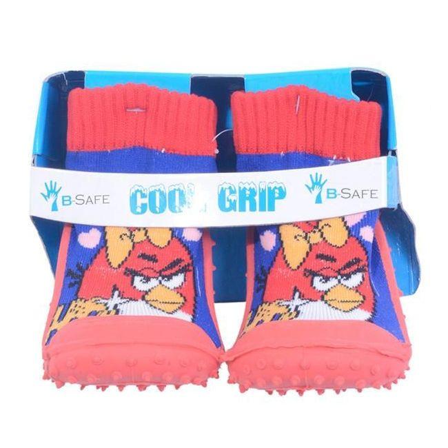 Cool Grip Baby Shoe Socks - Angry Birds
