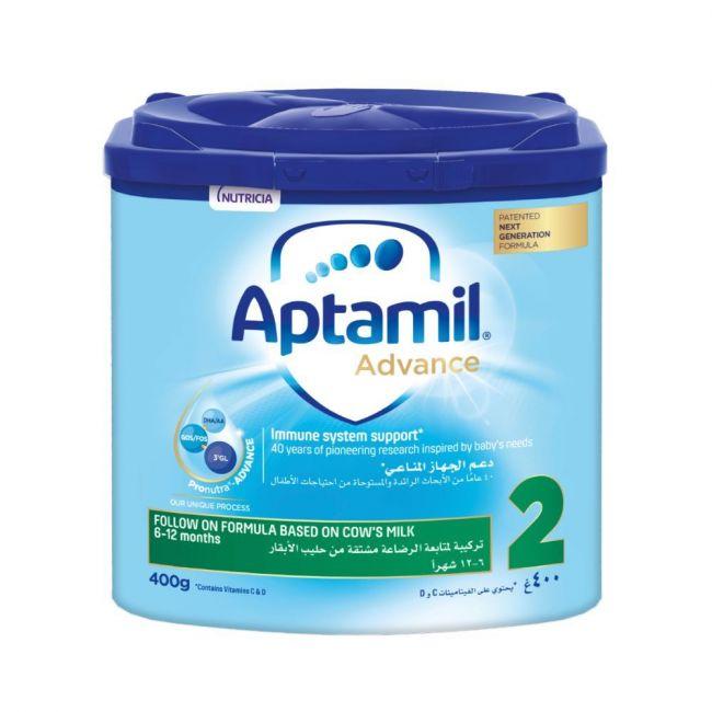 Aptamil - Advance 2 Next Generation Follow On Formula - 400g