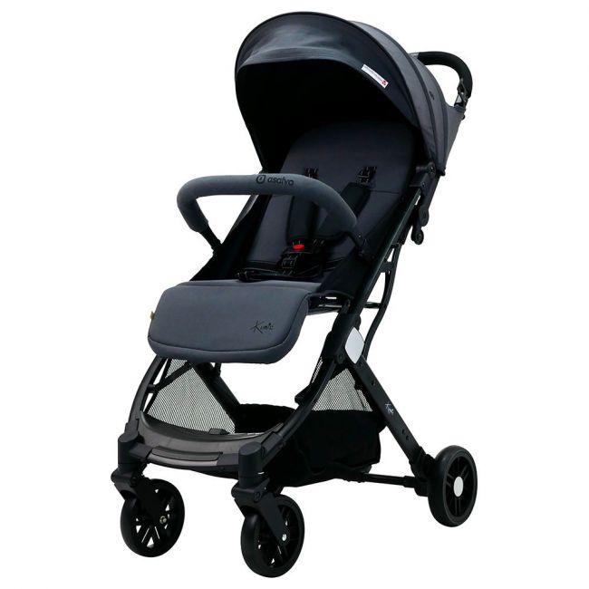 Asalvo - Kubic Light Travel Stroller - Grey
