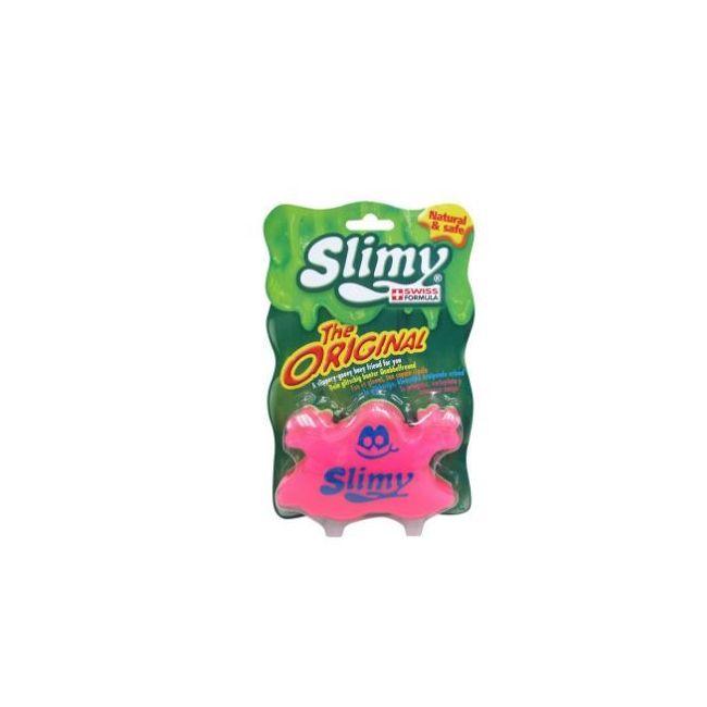Slimy Classics Original Slimy Blister card Enlarge Pink
