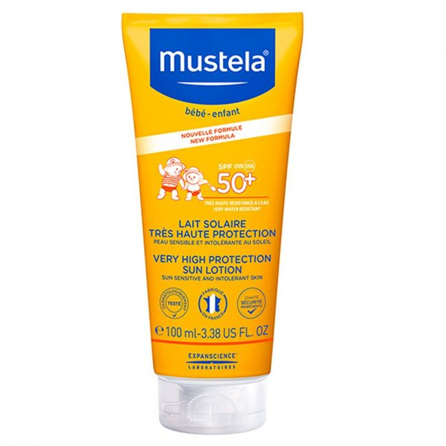 Mustela - Sun Lotion SPF 50+ Face & Body - 100ml