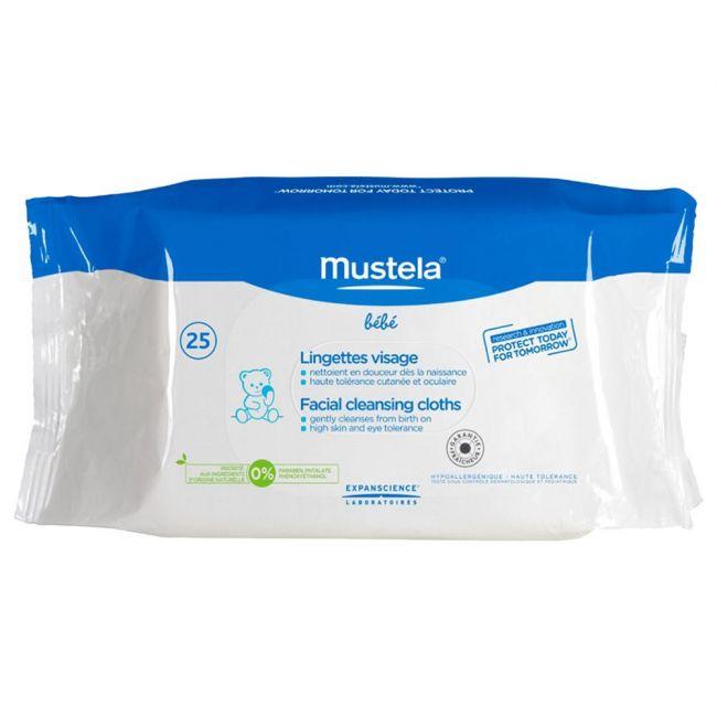 Mustela - Cleansing Wipes 25's