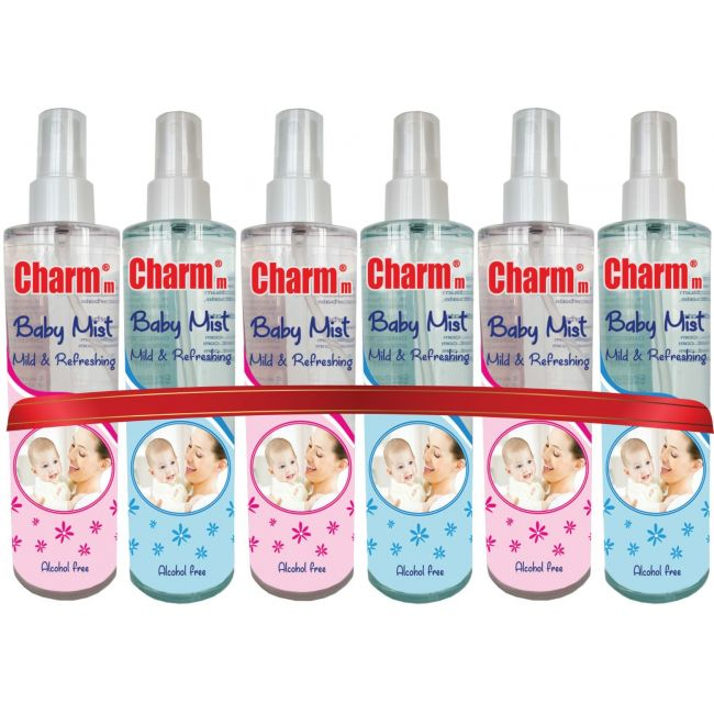 Charmm Baby Mist 6pk - Assorted