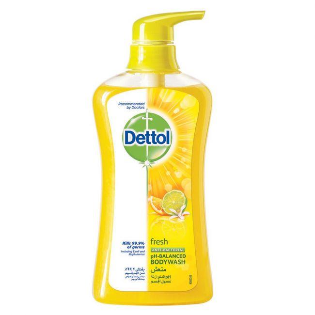 Dettol - Anti-Bacterial Body Wash Fresh 500ml