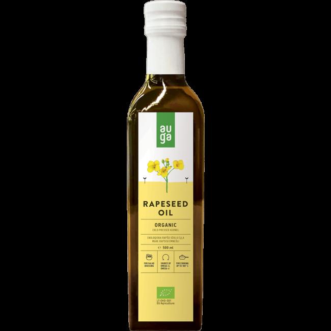 Auga - Organic Rapeseed Oil - 500ml