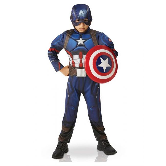 Avengers - Cw Captain America Deluxe Costume