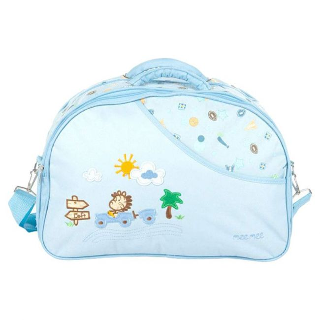 Mee Mee - Diaper Bag With Removable Shoulder Straps - Blue
