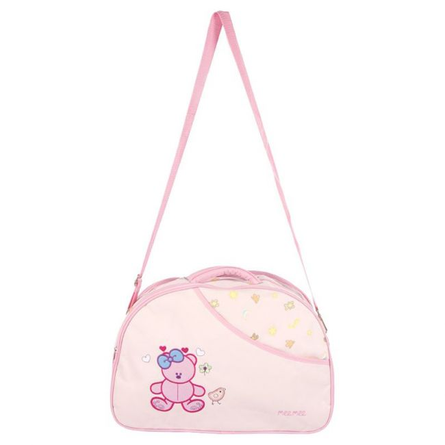 Mee Mee - Diaper Bag With Removable Shoulder Straps - Pink