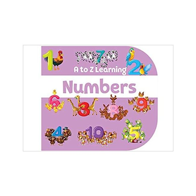 B Jain Publishers - A To Z Learning Numbers