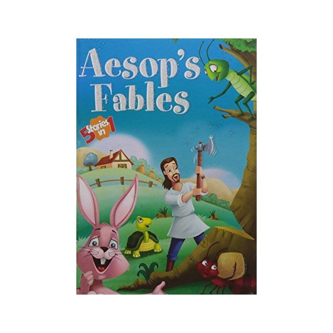 B Jain Publishers - Aesop S Fables 5 In 1 Hb
