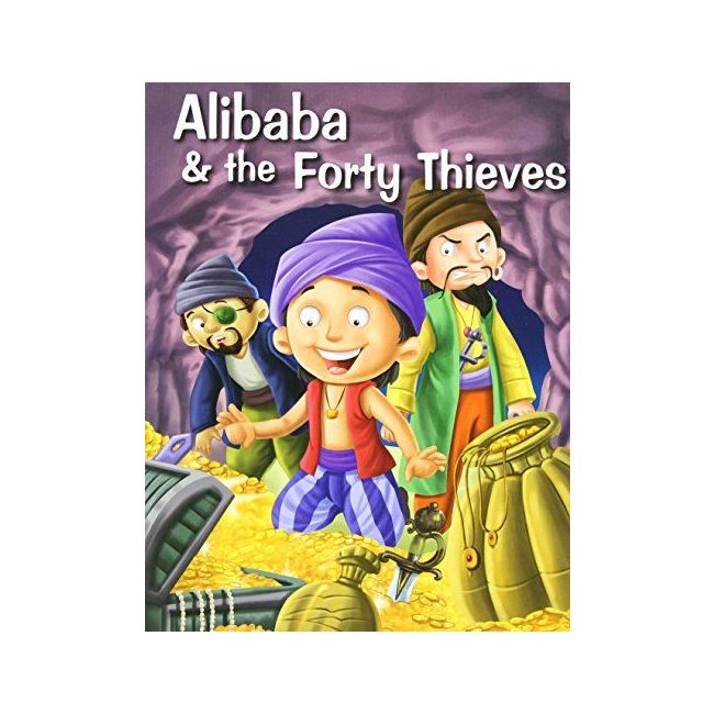 B Jain Publishers - Ali Baba And Forty Thieves
