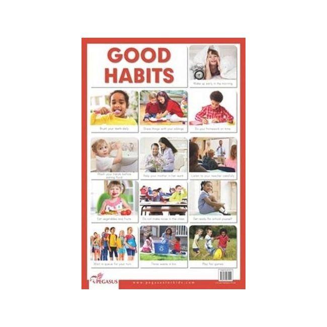 B Jain Publishers - B Jain Educational Chart Good Habits