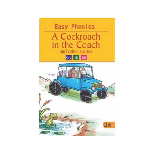 B Jain Publishers - Easy Phonics A Cockroach In The Coach