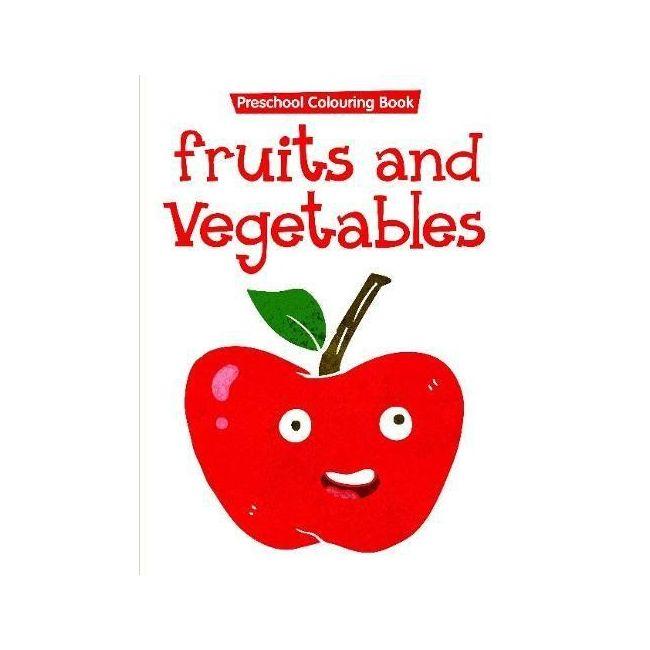 B Jain Publishers - Fruit And Vegetables Flash Card
