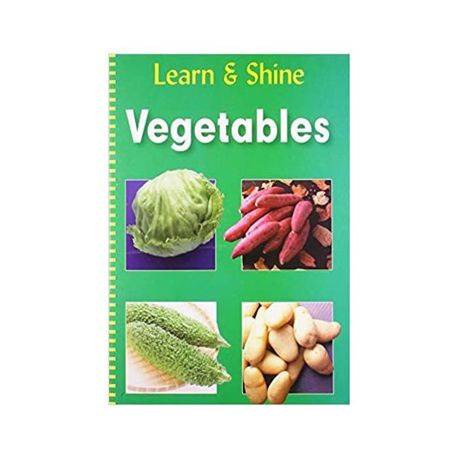 B Jain Publishers - Learn And Shine Vegetables