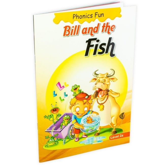 B Jain Publishers - Phonics Fun Bill And The Fish