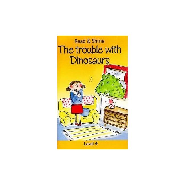 B Jain Publishers - Read And Shine The Trouble With Dinosaurs