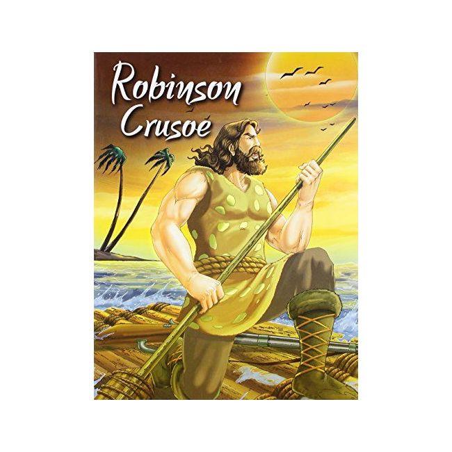 B Jain Publishers - Robinson Crusoe 6291086017479