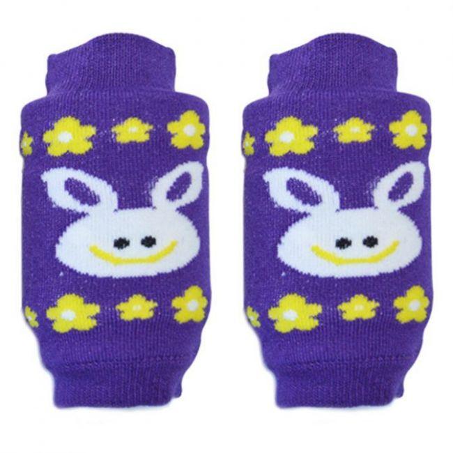 B-Safe Knee Protectors Violet Bunny
