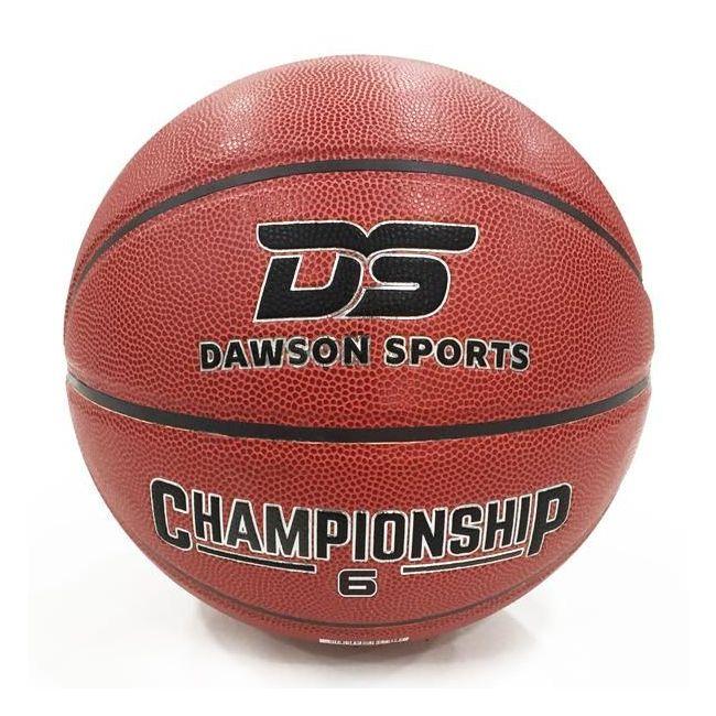 Dawson Sports - Pu Championship Basketball- Size 6 - Brown