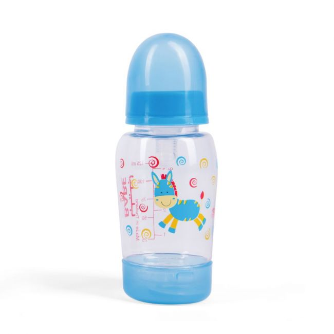 Babe - Baby Feeding Bottle 125ml - Blue