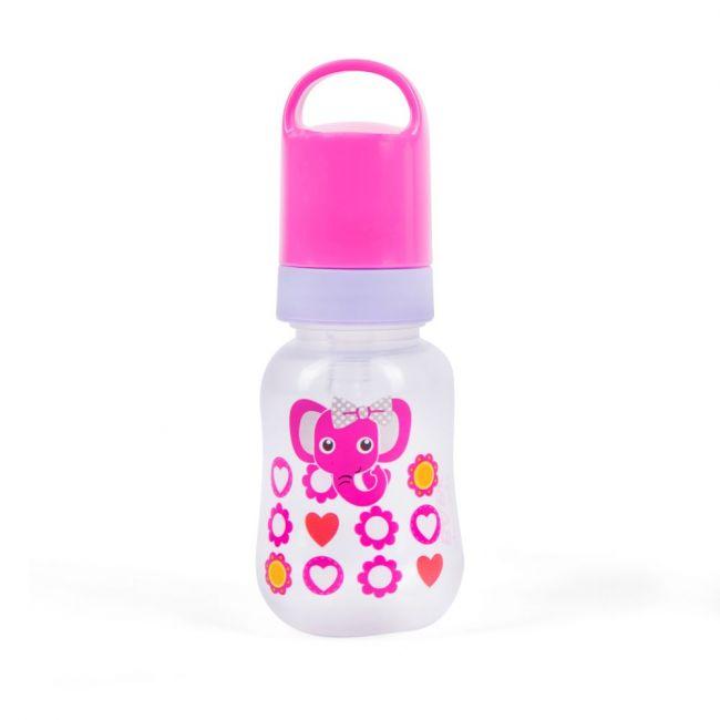 Babe - Baby Feeding Bottle 125ml - Purple