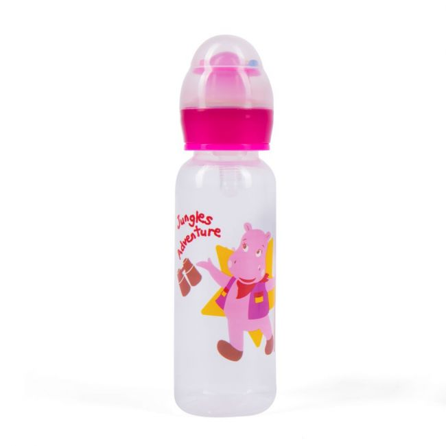 Babe - Baby Feeding Bottle 150ml - Pink