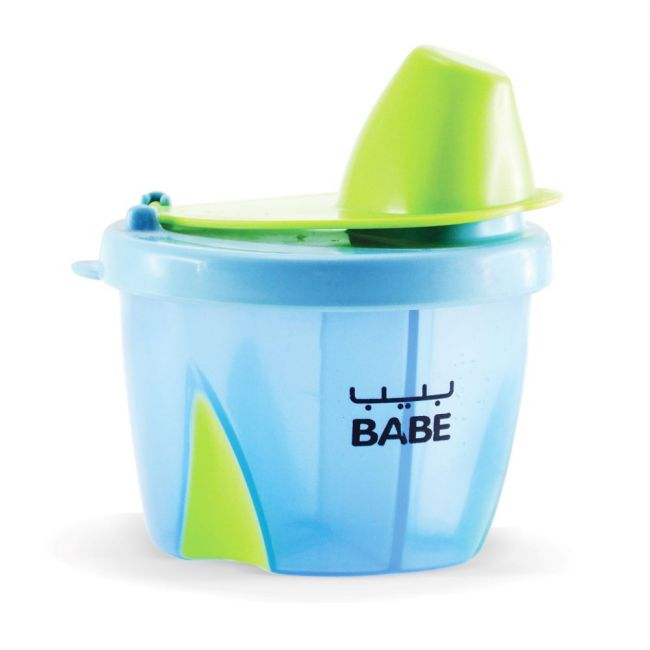 Babe - Milk powder Portion Pouring Container - Blue
