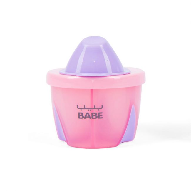 Babe - Milk powder Portion Pouring Container - Pink