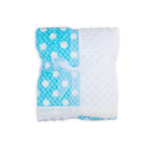 Little Angle - Baby Blanket Ultra Soft Premium Quality Blanket Blue 03