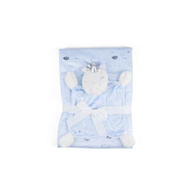 Little Angle - Baby Blanket Ultra Soft Premium Quality Blanket Blue