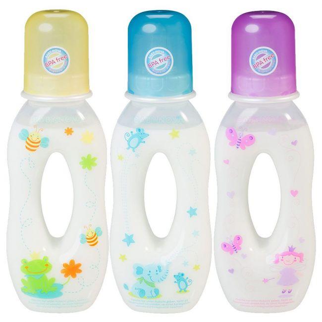 Baby Nova - Easy To Hold Feeding Bottle PP - 250ml