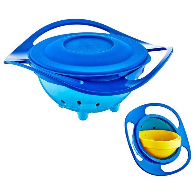 Babyjem - Non Spill Feeding Toddler Bowl Blue