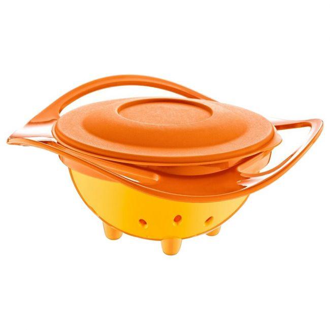 Babyjem - Non Spill Feeding Toddler Bowl Orange