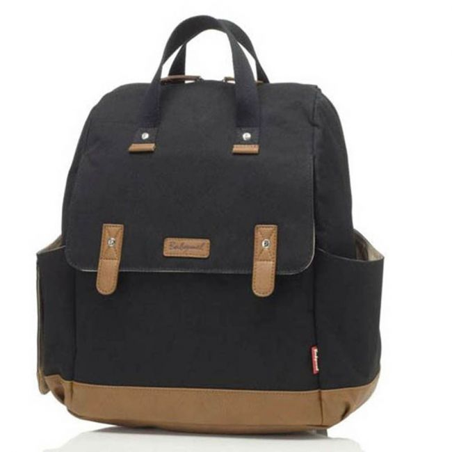 Babymel - Robyn Convertible Diaper Bag - Black